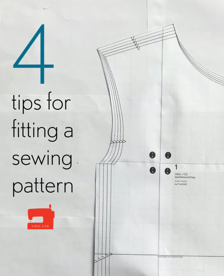 4 tips for fitting a sewing pattern, whether you're a beginner or seasoned.