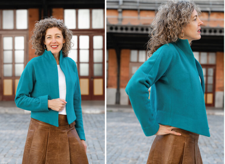 Liesl + Co Yanaka Jacket sewing pattern