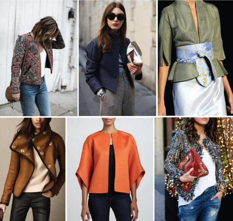 Yanaka Jacket styling and fabric inspiration