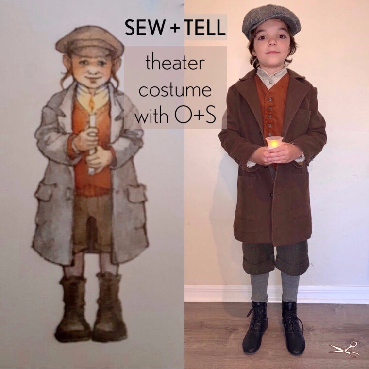 Costume sewing using Oliver + S patterns.