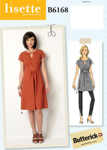 lisette for butterick B6168 sewing pattern