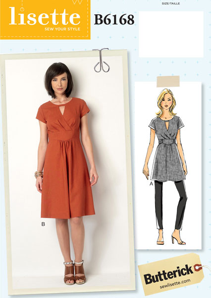 Lisette For Butterick B6168 Sewing Pattern | Shop | Oliver + S
