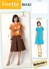 lisette for butterick B6182 sewing pattern