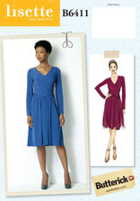 lisette for butterick B6411 sewing pattern