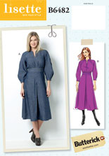 lisette for butterick B6482 sewing pattern