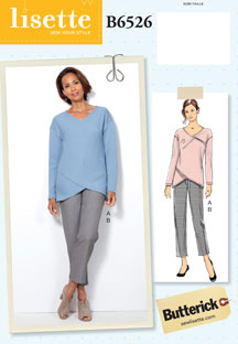 lisette for butterick B6526 sewing pattern