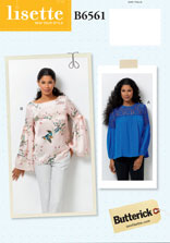 lisette for butterick B6561 sewing pattern