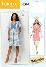 lisette for butterick B6567 sewing pattern