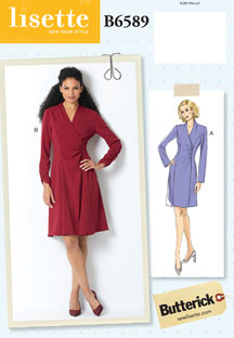 lisette for butterick B6589 sewing pattern