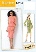 lisette for butterick B6598 sewing pattern