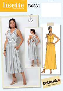 lisette for butterick B6661 sewing pattern