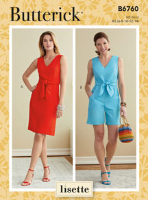 lisette for butterick B6760 sewing pattern
