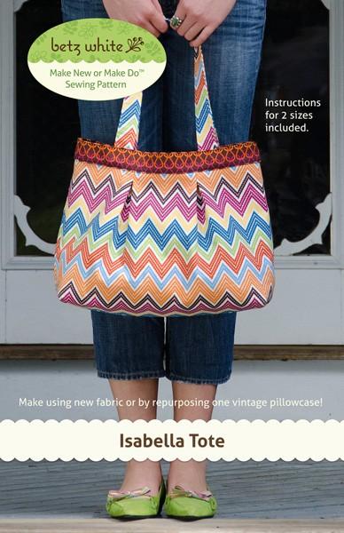 Digital Isabella Tote Bag Sewing Pattern Shop Oliver S