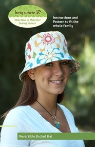 digital reversible bucket hat sewing pattern