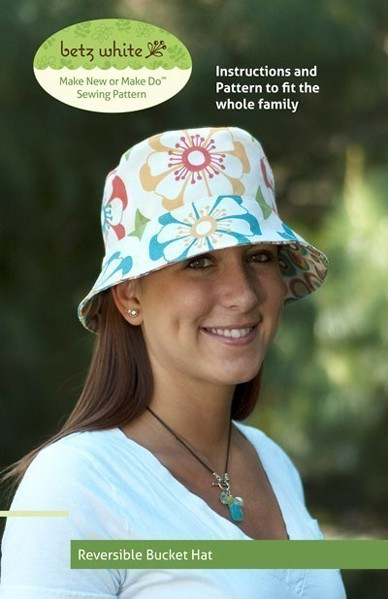 Digital Reversible Bucket Hat Sewing Pattern  a46b9fe04b1