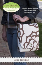 digital alice book bag sewing pattern
