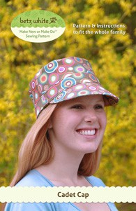 digital cadet cap sewing pattern