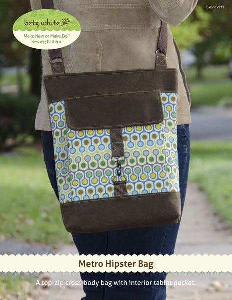 Digital Metro Hipster Bag Sewing Pattern | Shop | Oliver + S