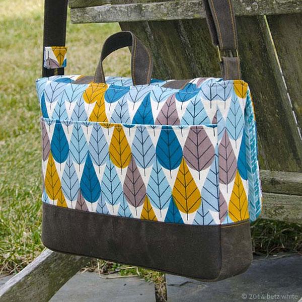 Digital Midtown Messenger Bag Sewing Pattern | Shop | Oliver + S
