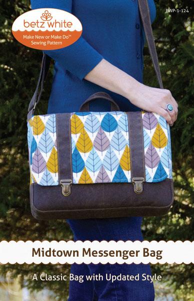 Digital Midtown Messenger Bag Sewing Pattern  82d9f7f81d212