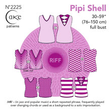 digital pipi shell sewing pattern