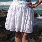 digital urchin skirt + shorts sewing pattern