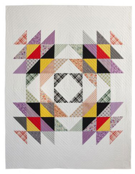 Digital Calico Swing Quilt + Sham Pattern | Shop | Oliver + S : calico house quilt shop - Adamdwight.com