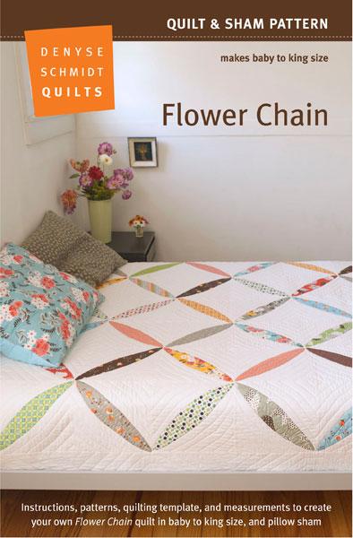 Digital Flower Chain Quilt + Sham Pattern | Shop | Oliver + S : quilt sham - Adamdwight.com