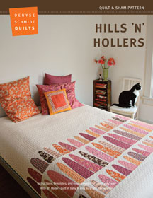 digital hills 'n' hollers quilt + sham pattern