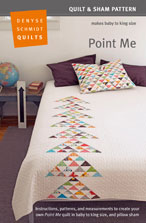 digital point me quilt + sham pattern