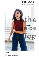 digital grace top sewing pattern