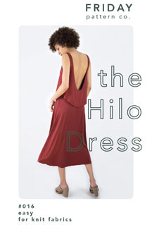 digital hilo dress sewing pattern