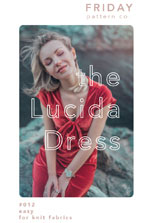 digital lucida dress sewing pattern
