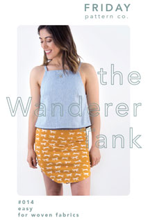 digital wanderer tank sewing pattern