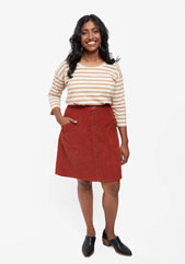 digital reed skirt sewing pattern