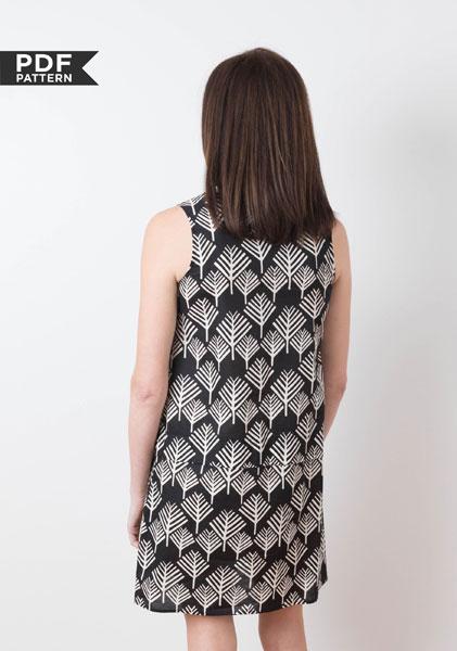 Digital Willow Tank Dress Sewing Pattern Shop Oliver S Custom Tank Dress Pattern