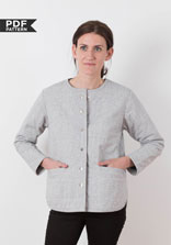 digital tamarack jacket sewing pattern