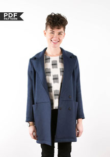 digital yates coat sewing pattern