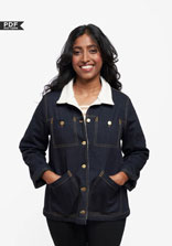 digital thayer jacket sewing pattern