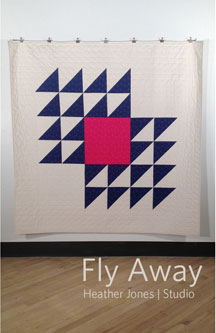 digital fly away quilt sewing pattern