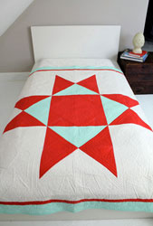 digital ohio supernova quilt sewing pattern