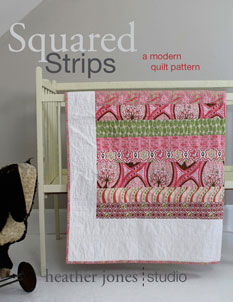 digital squared strips quilt sewing pattern