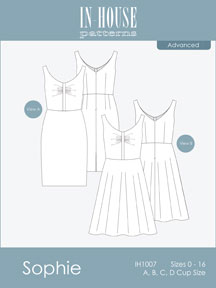 digital sophie dress sewing pattern