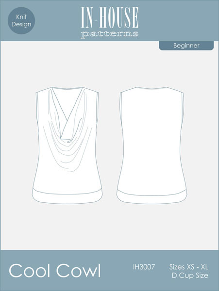 Digital Cool Cowl Tank Sewing Pattern | Shop | Oliver + S