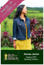 digital atenas jacket sewing pattern