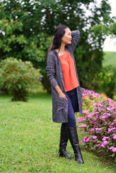 digital aveiro cardigan sewing pattern