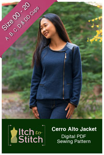 digital cerro alto jacket sewing pattern