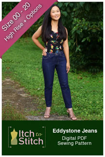 digital eddystone jeans sewing pattern