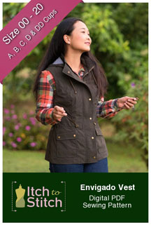 digital envigado vest sewing pattern