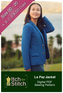 digital la paz jacket sewing pattern